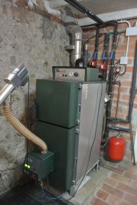 Le Chaudière à Biomasse